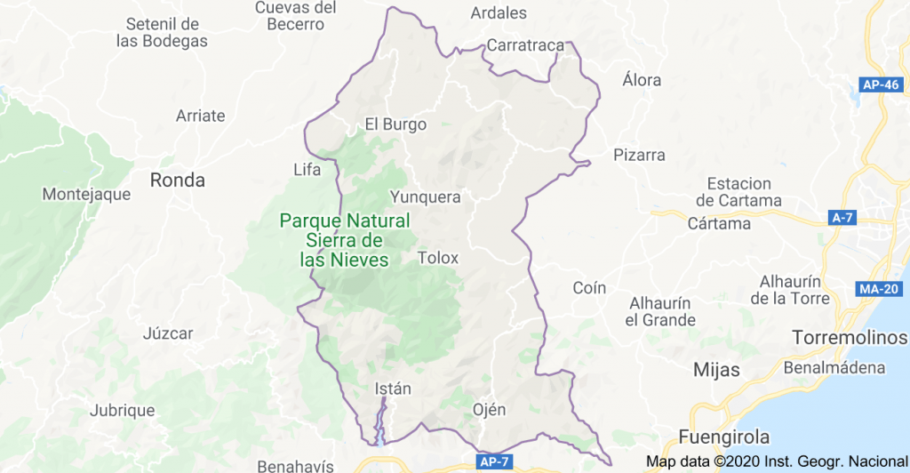 long-term Rentals Sierra de las Nieves