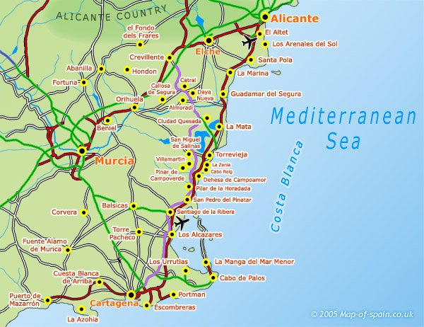 long-term Rentals Costa Blanca South